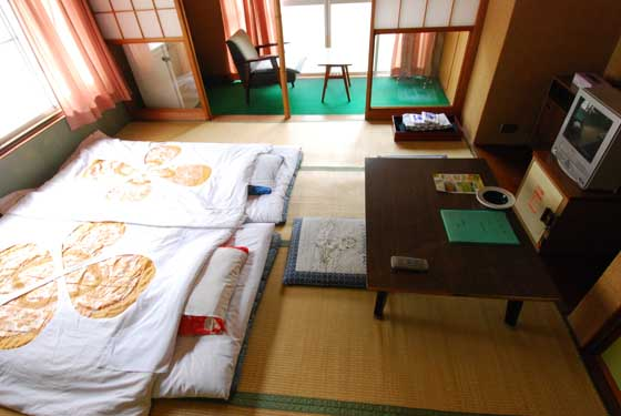 素泊まり客室